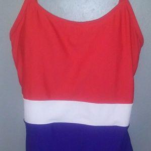 Patriotic Catalina Swim Suit